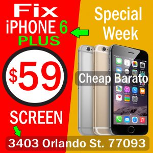cheap iphone 6 plus repair houston