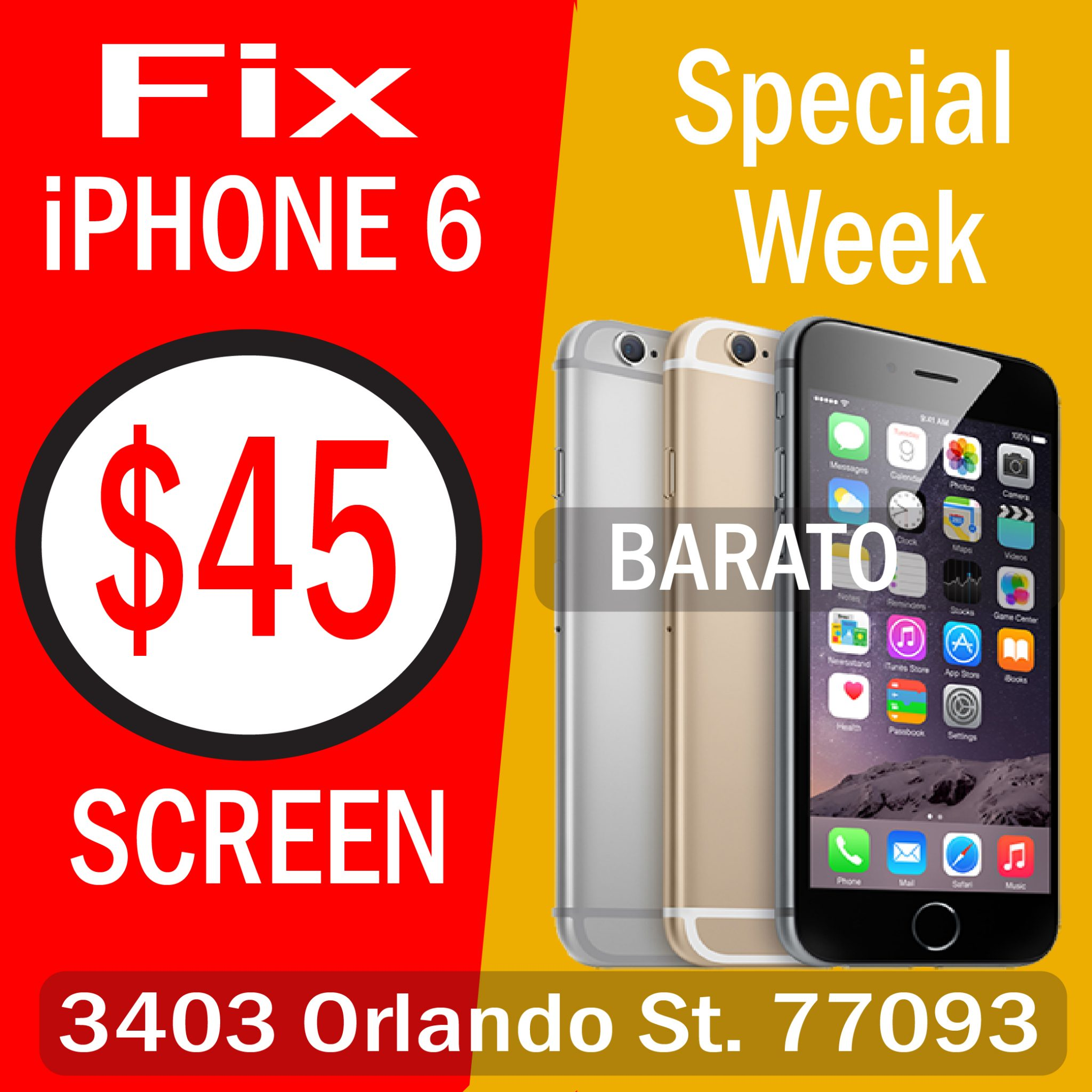 Cheap iPhone Repair Houston