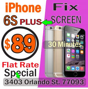 fix iphone 6S plus houston