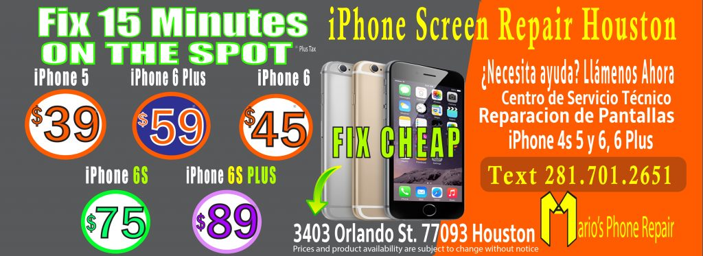 Cheap Iphone  Plus Screen Repair Houston