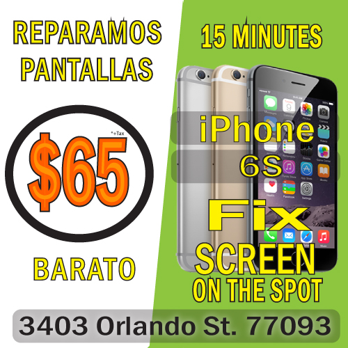 Iphone 6S Screen Fix