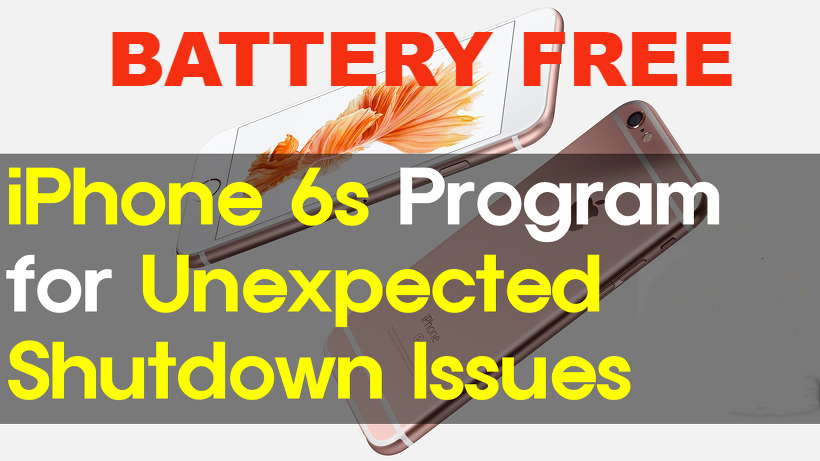 iPhone 6S unexpected death2